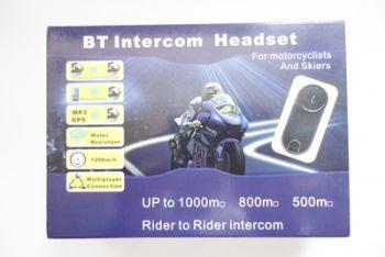 Bluetooth мотогарнитура BT-1000