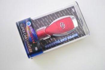 USB автозарядное с логотипом TOYOTA