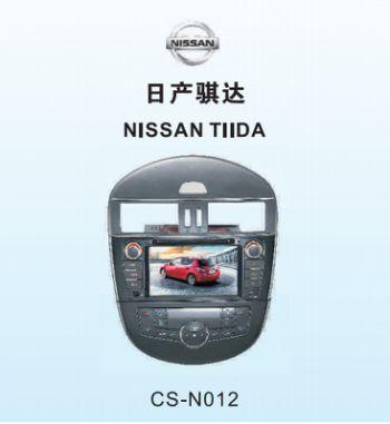 Головное устройство NISSAN TIIDA 2011-2012