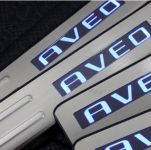 Накладки на пороги CHEVROLET AVEO