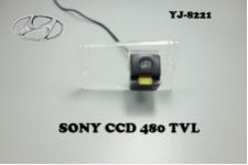 Штатная камера заднего вида для KIA CERATO ХЭТЧБЭК 2012